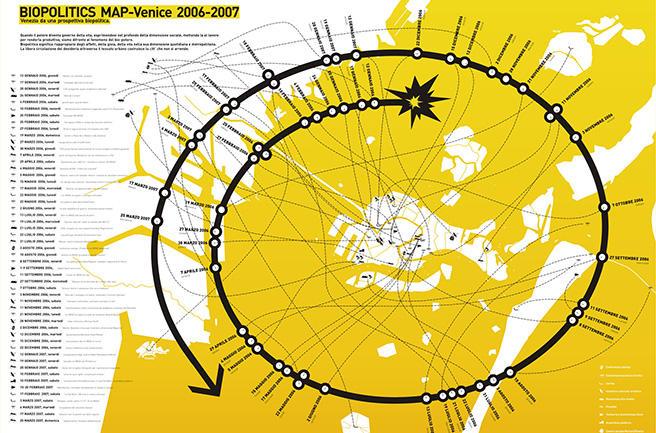 Biopolitics map Venice